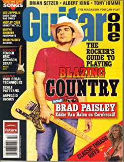 Guitar One Magazine (September 2005) (The Rocker's Guide to Playing Blazing Country + Brad Paisley + Eddie Van Halen on Cornbread!)