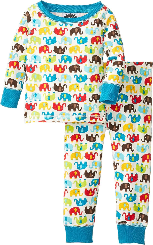 Mud Pie Baby Boys' Elephant Pajama