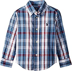 Cotton Madras Shirt (Toddler)