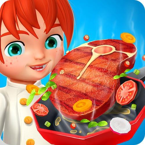 Crazy 3D Kochen Steak Maker - Kids Maker Spiele kostenlos