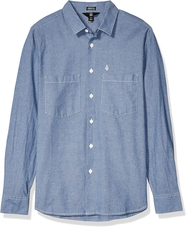 Volcom - Camiseta Pedro Blues Mangas Largas - Camiseta Hombre ...