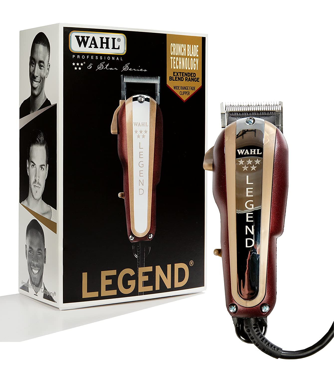 Wahl Professional 5-Star #8147 Seattle New Orleans Mall Mall Clipper Legend