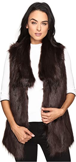Faux Fur Fox Vest