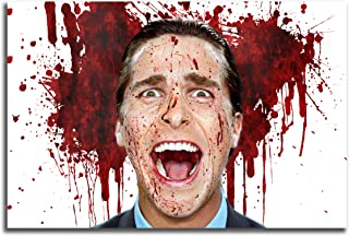 Poster #05 American Psycho Movie Art Decor 36x48 inch More Sizes Available Canvas Stretcher Bar Frame