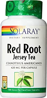 Solaray Red Root Capsules, 420 mg | 100 Count