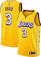 Outerstuff Anthony Davis Los Angeles Lakers #3 Youth City Edition Swingman Jersey Gold