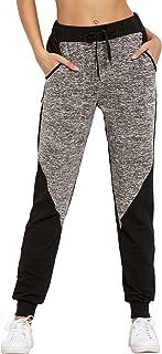 SweatyRocks Women's Drawstring Waist Long Workout Yoga Legging Active Pant with Pocket