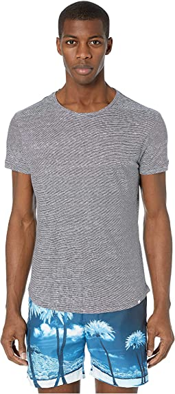 Ob-T Linen Stripe Shirt