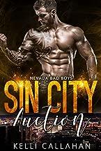 Sin City Auction: Bad Boy & Virgin Romance (Nevada Bad Boys Book 4)