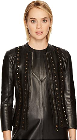 Versace Collection - Studded Leather Jacket