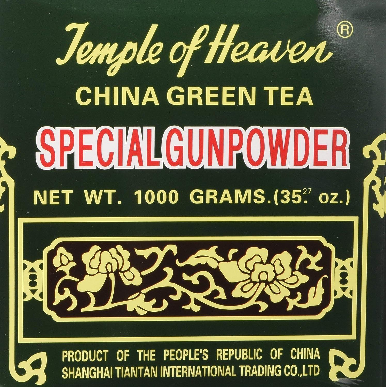 China Green Ranking TOP12 Tea Special Gunpowder Year-end annual account 1 35.27 or 1000grams Kilo Oz