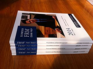 FRM 2014 Part 1 Schweser Study Notes Book 1-4 + Practice Exams + Quick Sheet