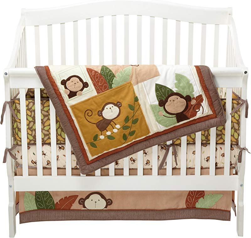 Carter S Monkey Bars 4 Piece Crib Bedding Set Discontinued By Manufacturer