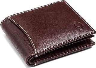 WILDHORN Brown Men's Wallet (WH1255 Crunch). (New S Maroon)