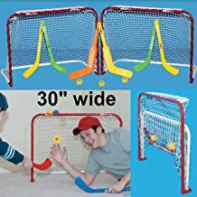 mini metal hockey nets