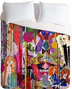 Deny Designs  Aimee St Hill Illustration Duvet Cover, Queen