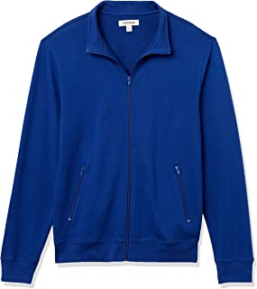 Amazon Brand - Goodthreads Men's Lightweight French Terry Track Jacket
