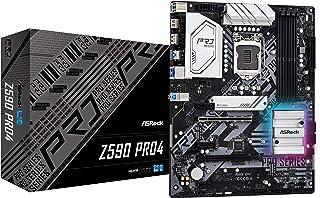 ASRock Intel 第10・11世代CPU(LGA1200)対応 Z590 チップセット搭載 ATX マザーボード 【国内正規代理店品】 Z590 Pro4