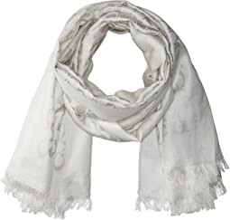 COACH - Signature C Metallic Stole