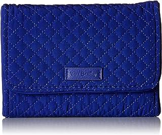 Vera Bradley Iconic RFID Riley Compact Wallet, Microfiber
