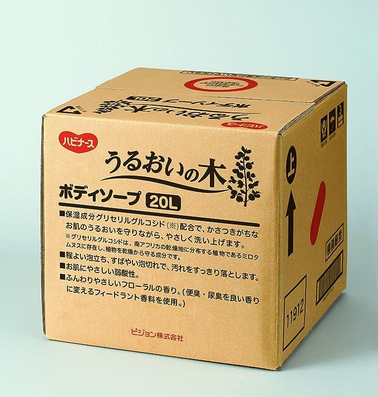 液体ビザパパハビナース うるおいの木 ボディソープ 20L [業務用]