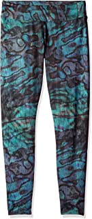 Hot Chillys Women's MTF4000 Fiesta Print Tights, Abalone, Small