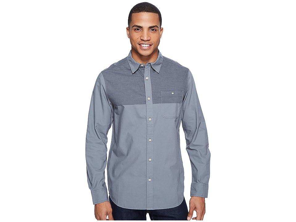 The North Face Long Sleeve Block Me Shirt (Asphalt Grey (Prior Season)) Men