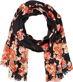 Multi Floral Silk Mesh