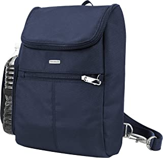 Travelon Anti-Theft Classic Small Convertible Backpack, Midnight, One Size