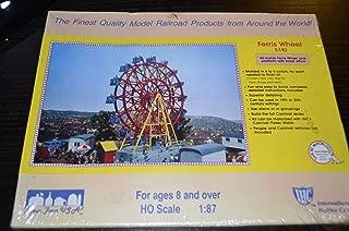IHC HO Scale 1:87 Carnival Ride #5110 Ferris Wheel Ride Plastic Kit