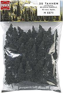 Busch 6571 Pine Tree Set 30/N Scale Scenery Kit