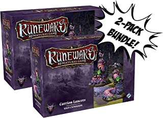 x2 Runewars Miniatures Game Carrion Lancers Unit Expansion Bundle Sold from SCATS