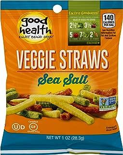 Good Health Veggie Straws, Sea Salt, Pack of 24