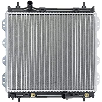 Klimoto Radiator with 1 Inch Thick Core   fits Chrysler PT Cruiser 2001-2010 2.4L L4   Replaces 5017404AA 5017404AB 5017404AD 501740AB CH3010116