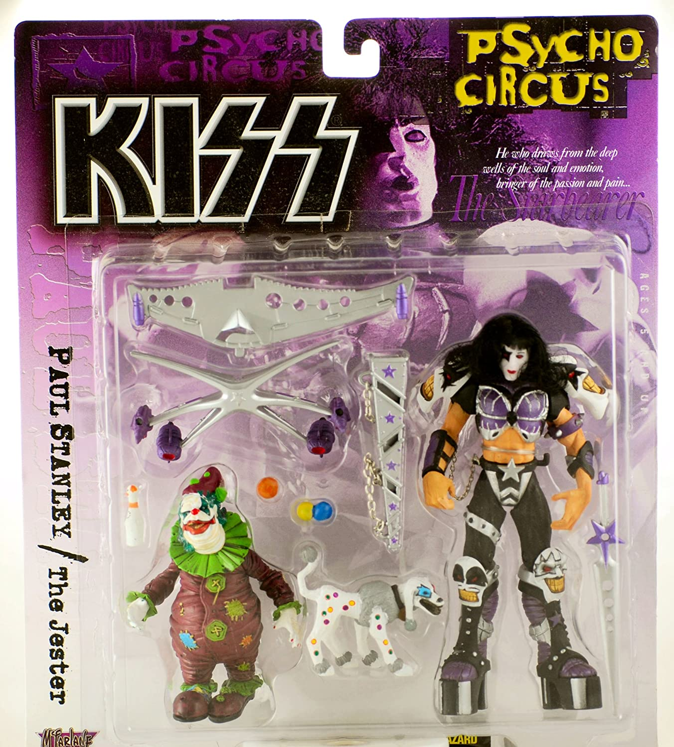 KISS Psycho Circus Paul Stanley figure