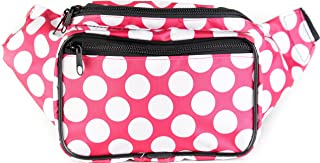 SoJourner Fanny Pack Waist Bag - Festival Packs for men, women | Cute Bum Bag Fashion Belt Bags (Pink)