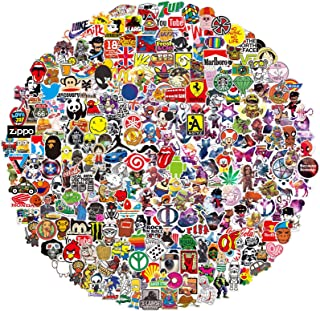 QWDDECO Stickers (360-PCS) Cute Stickers for Water Bottles Hydroflasks Skateboard- Decal Stickers for Teens, Girls, Boys, Adults - Laptop Stickers - Vinyl Stickers Waterproof - Sticker Pack Not Random