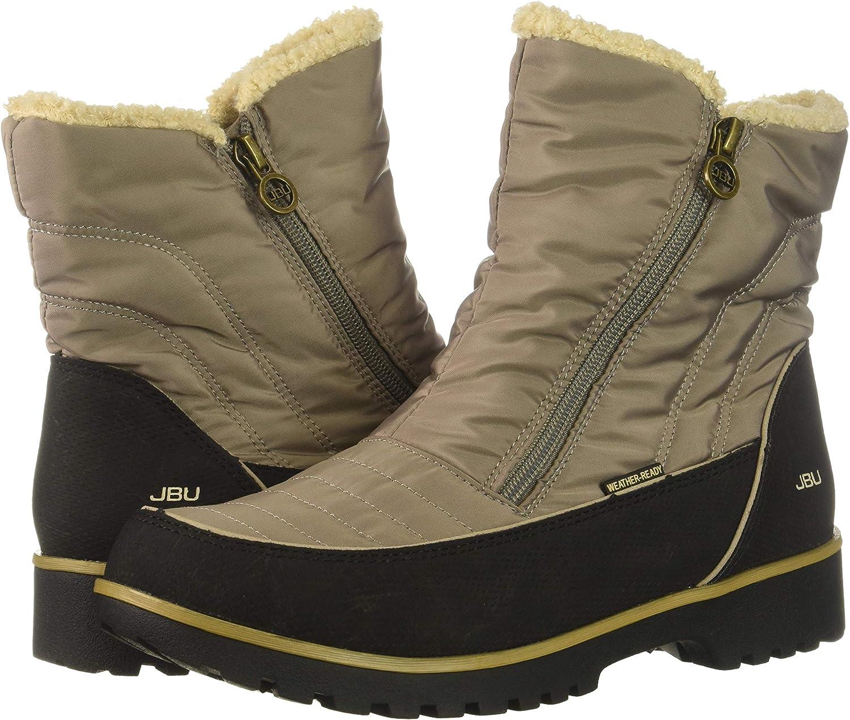 JBU by Jambu Women's Snowbird Weather Ready Snow Boot, taupe, 6 Medium US