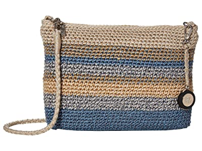 The Sak Casual Classics 3-in-1 Demi (Blue Harmony Stripe) Handbags