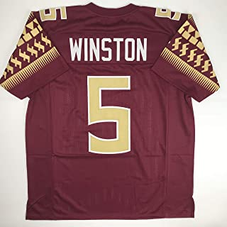 Unsigned Jameis Winston Florida State Maroon Custom Stitched College Football Jersey Size Men`s XL New No Brands/Logos