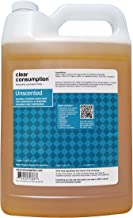 Clear Consumption Natural Unscented Foaming Hand Soap Refill 1 Gallon - Made from USDA Organic Vegetable Oils - For Commercial & Personal Foaming Soap Dispensers