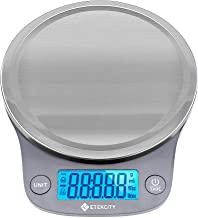Etekcity 0.1g Food Kitchen Scale, Digital Weight Grams and Oz for Cooking, Baking, Meal Prep, and Diet, 11 Pounds, 304 Sta...