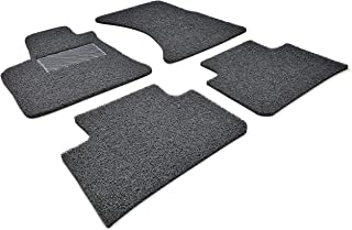 Autotech Zone Custom Fit Heavy Duty Custom Fit Car Floor Mat for 2009-2017 Audi Q5 SUV, All Weather Protector 4 Pieces Set (Black)
