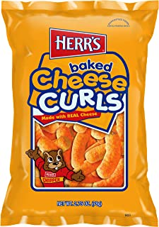 Herr's Cheese Curls, 2.75 Ounce (Pack of 20)