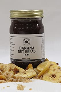 Banana Nut Bread Jam, 4.5 oz