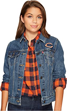 Levi's® Womens Bears Sport Denim Trucker