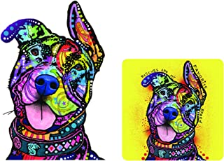 Enjoy It Dean Russo Pit Bull Car Sticker & Air Freshener Set