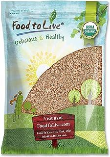 Organic Italian Pearled Farro, 5 Pounds - Non-GMO, Kosher, Vegan, Grain in Bulk, Good Source of Fiber