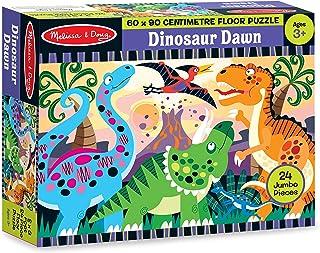 Melissa & Doug Dinosaur Dawn Jumbo Jigsaw Floor Puzzle (24 pcs, 2 x 3 feet)