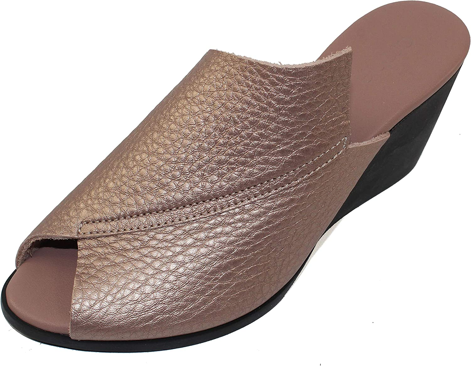Arche Women's Egyrha in Max 71% OFF Trust Antico Fast - Metal Ros Metallic Leather